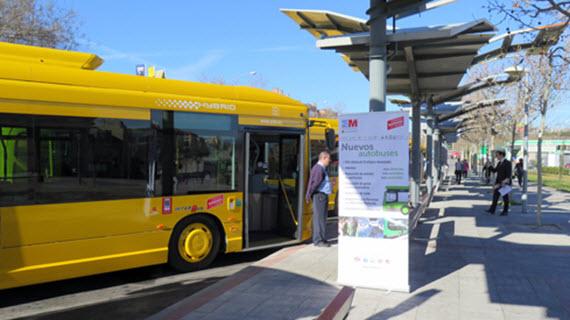 6 nuevos autobuses urbanos h bridos para alcobendas y san for Trabajo en alcobendas y san sebastian de los reyes