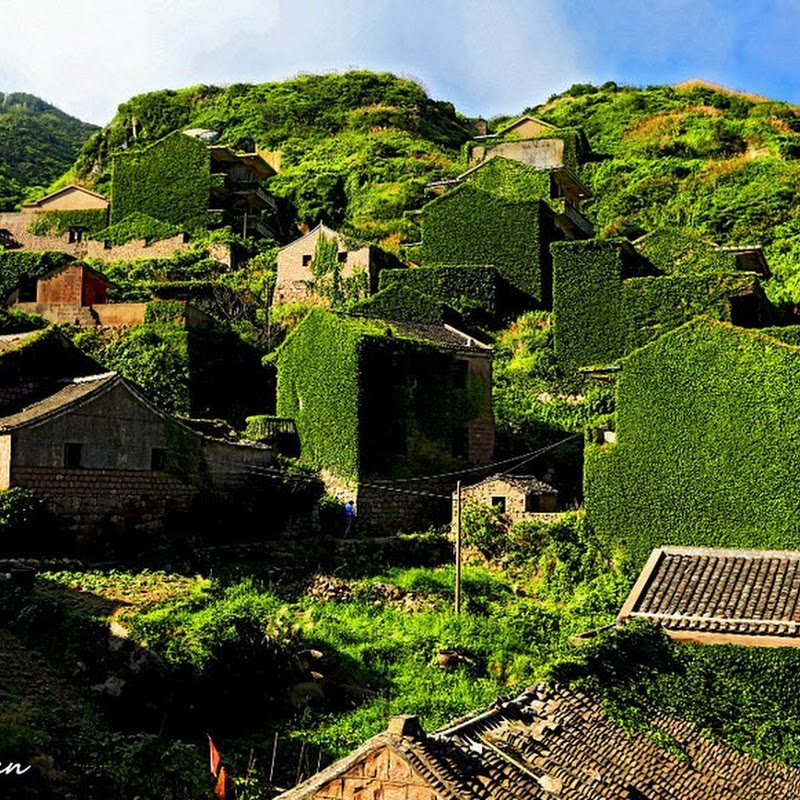 An Abandoned Fishing Village on Gouqi Island, China