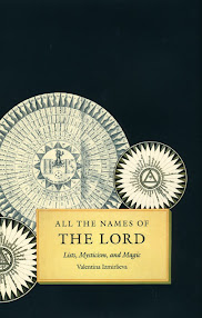 Cover of Valentina Izmirlieva's Book All the Names of the Lord