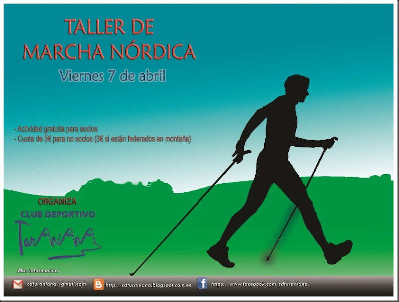 Cartel 4 Marcha Nordica