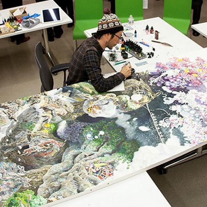 Ζωγραφιά από στυλό χρειάστηκε 3,5 χρόνια με 10 ώρες την ημέρα
