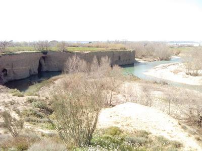 Peña del Cuervo, río Gállego