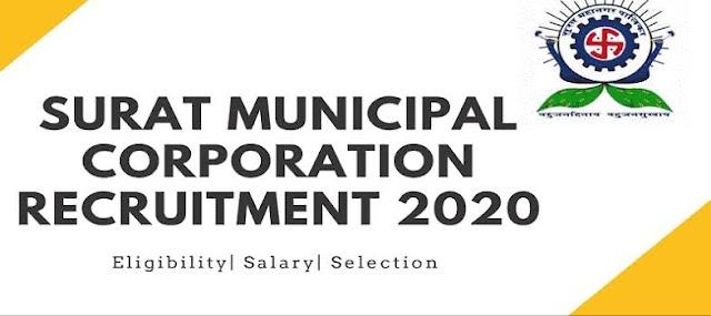 Surat Municipal Corporation Recruitment 2020-21   421 Medical Officer, Nurse, Ayah And Sr. Resident Posts