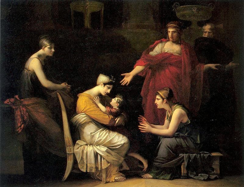 Pierre-Paul Prud'hon - Andromache and Astyanax