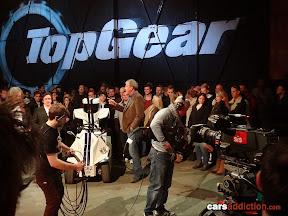 Top Gear Audience behind the scenes