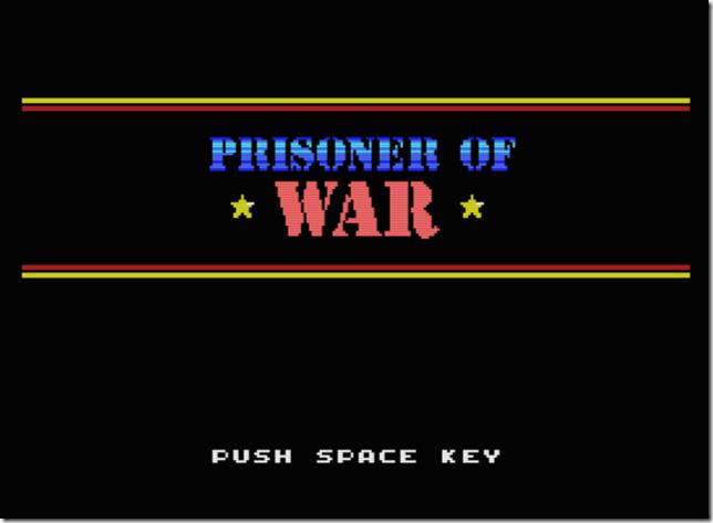 POW MSX Inicio