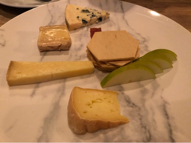Irish cheese board