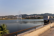 'Great Park of Tirana', including an artificial lake.