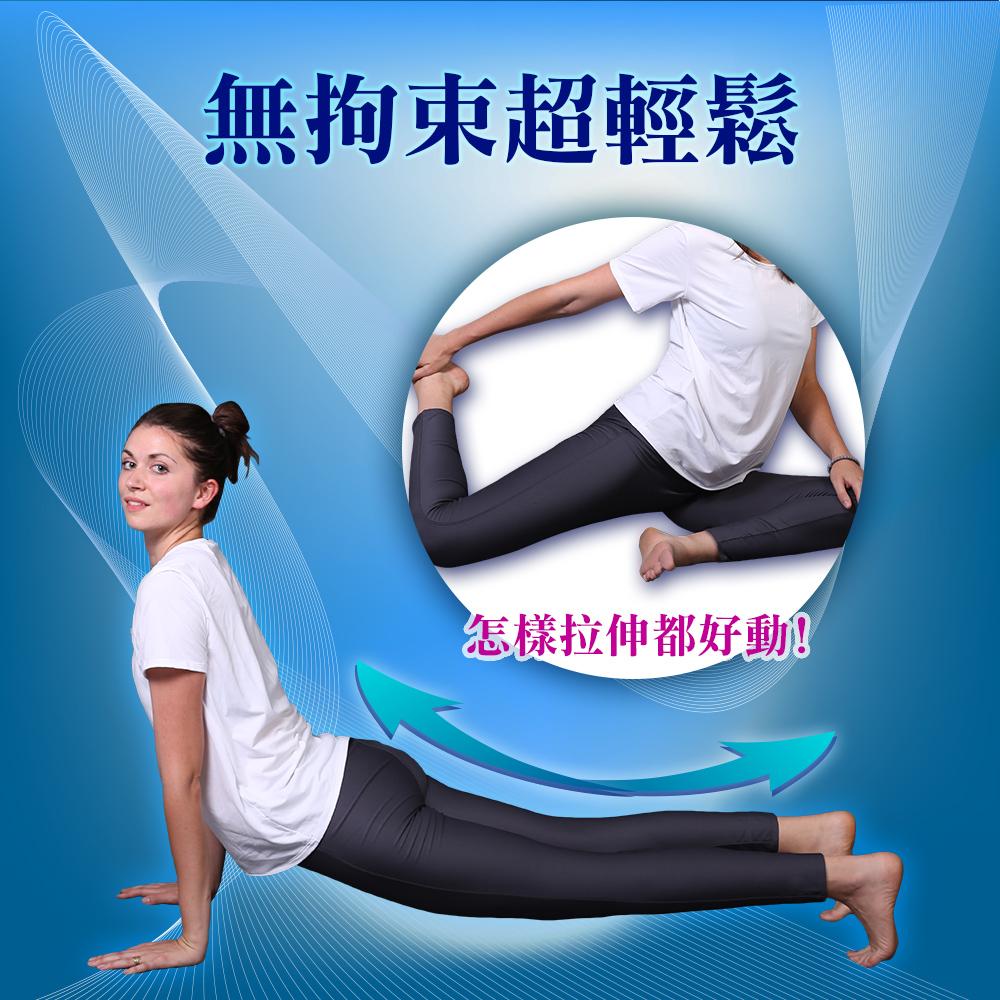 雙層 吸濕 排汗 褲 吸濕排汗褲 導濕 導濕溝槽 乾爽 乾燥 大彈力 彈力 彈性 顯瘦 修長 機能 有感