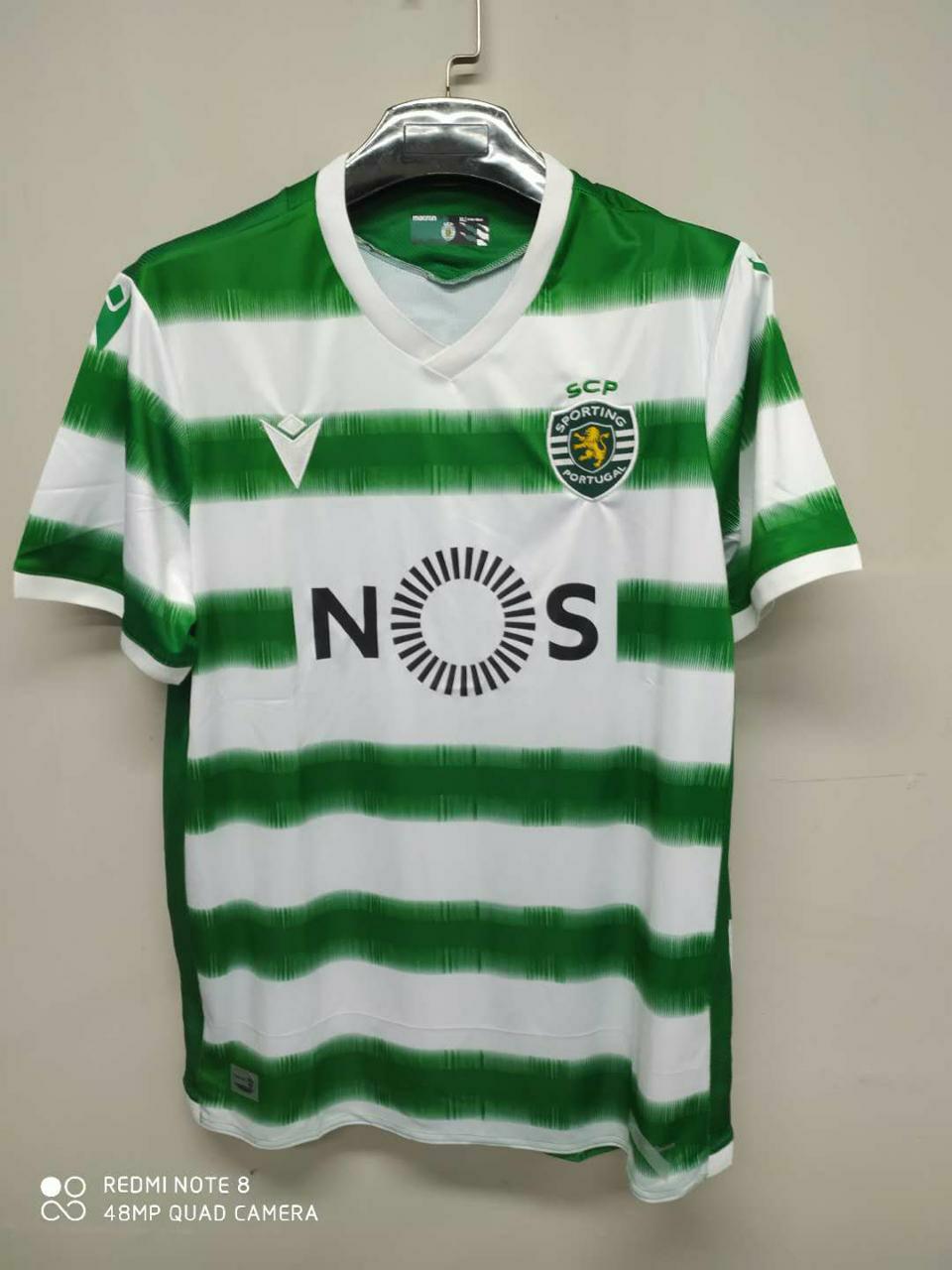 Jual Jersey Sporting Lisbon Home Musim 2020/2021