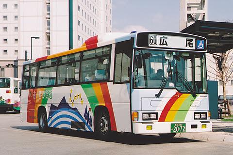 十勝バス 60系統 広尾線 2072