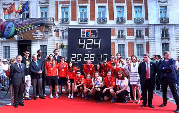 Cuenta atrás para la Copa del Mundo de Baloncesto 2014