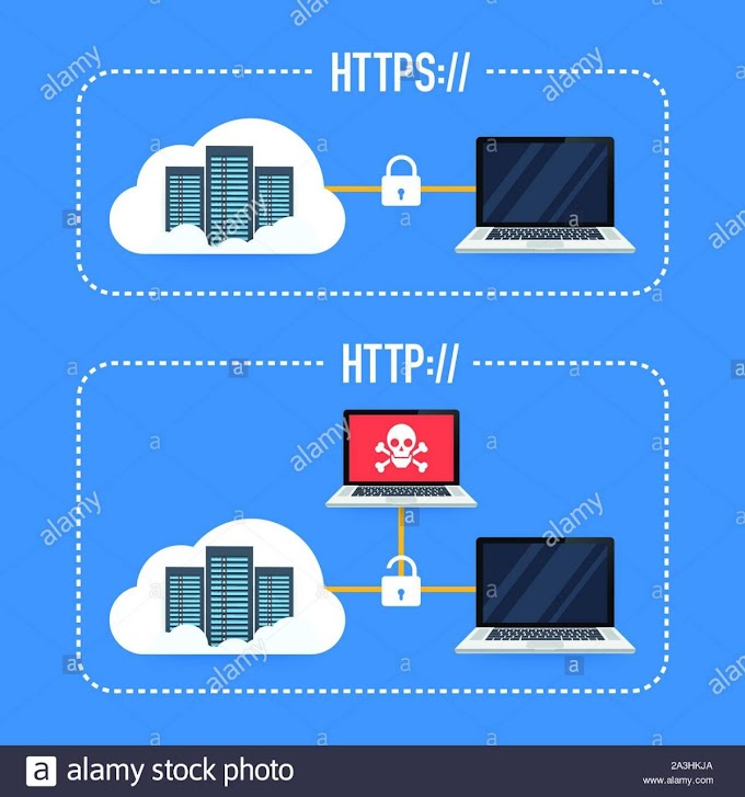 HTTP and HTTPS!