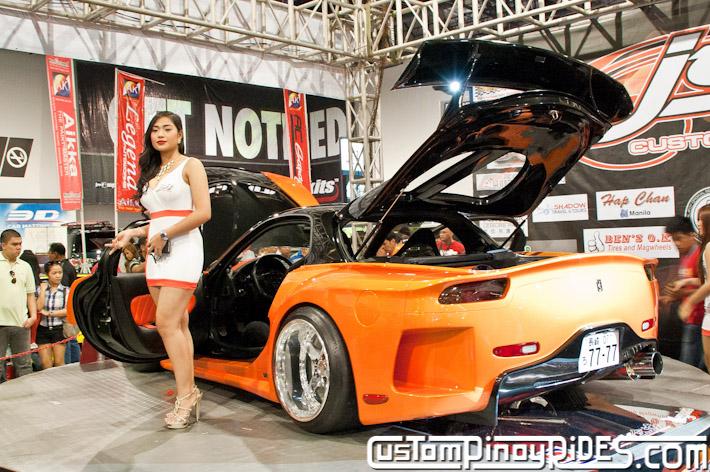 VEILSIDE FORTUNE MAZDA RX-7 TOKYO DRIFT JSK Manila Auto Salon Custom Pinoy Rides Philip Aragones pic5