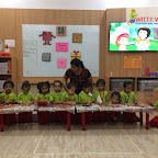 Square Day Celebration of Nursery Afternoon Section at Witty World, Chikoowadi(2018-19)