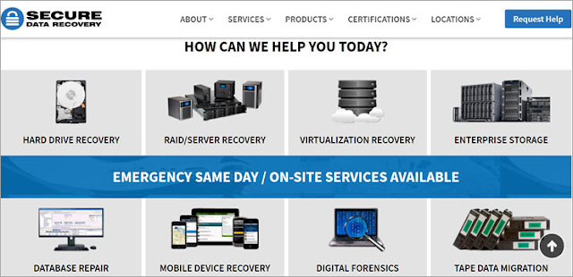 Secure Data Data Recovery Service Provider Companies in 2021: