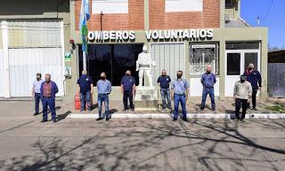 Primer cuerpo activo de los bomberos voluntarios de Chacabuco