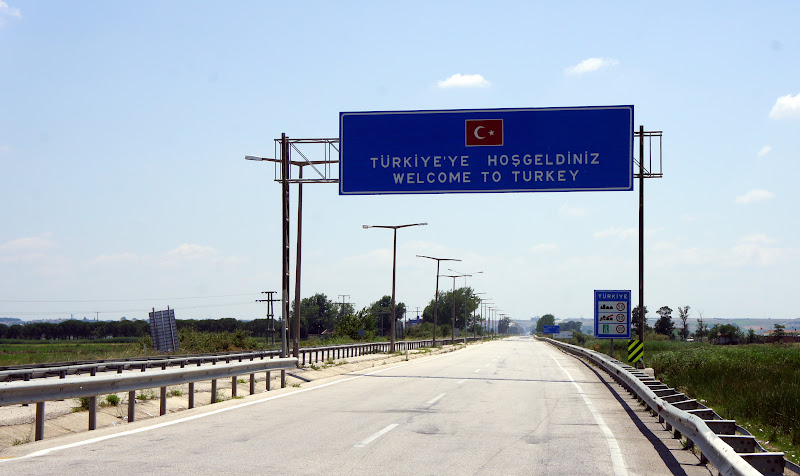 Willkommen auf türkischen Autobahnen