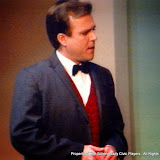 Jeff Nuding in THE IMPORTANCE OF BEING EARNEST (R) - December 1989.  Property of The Schenectady Civic Players Theater Archive.