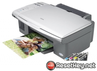 Reset Epson CX5700F End of Service Life Error message