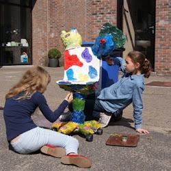 kunst in het vijfde leerjaar