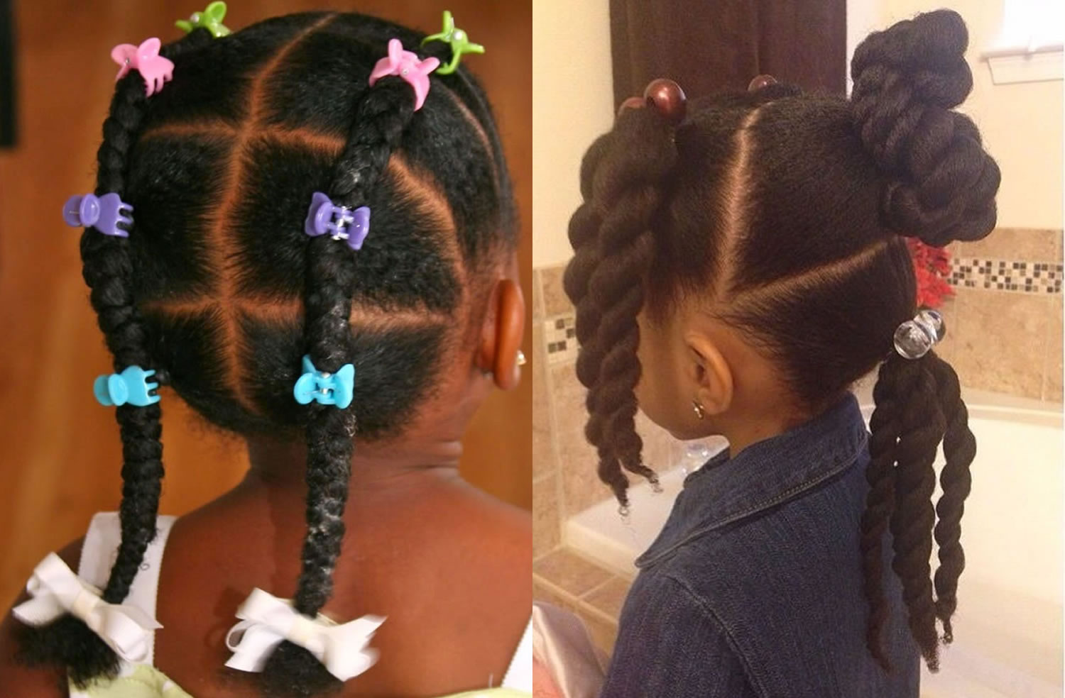 Black Little Girl Braided Hairstyles 2018 Hairstyles By Unixcode
