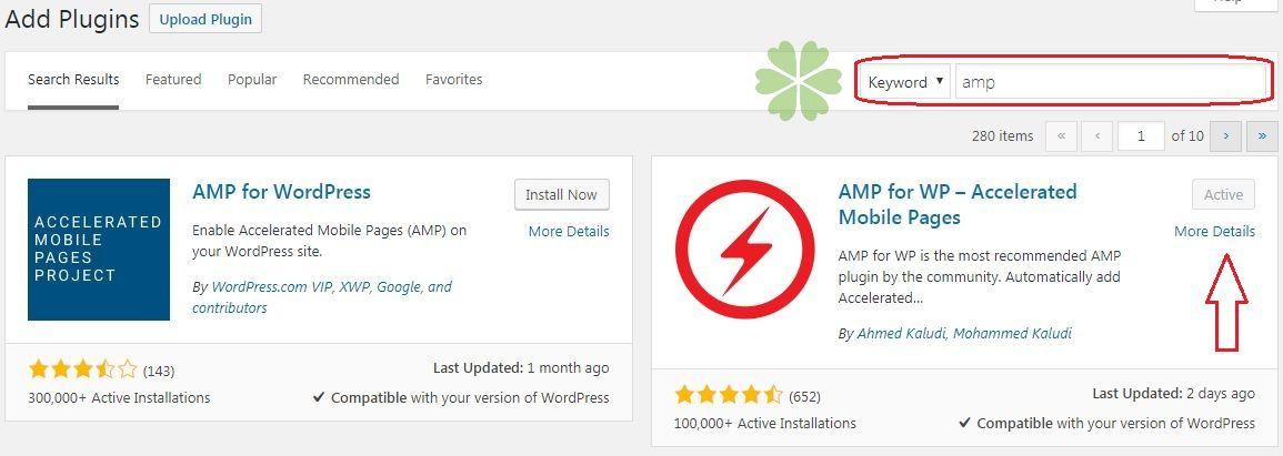 Hướng dẫn cách cài đặt PluginAMP for WP – Accelerated Mobile Pages