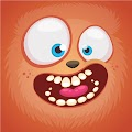 Monster Face Cool Free Download Vector CDR, AI, EPS and PNG Formats