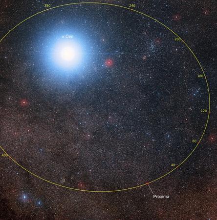 órbita de Proxima Centauri