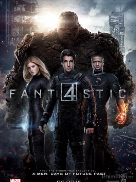 (3GP) Bộ Tứ Siêu Đẳng – Fantastic Four 2015 (Bản đẹp)