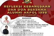 Alumni Akpol 1998 gelar Refleksi Kebangsaan dan Doa bersama