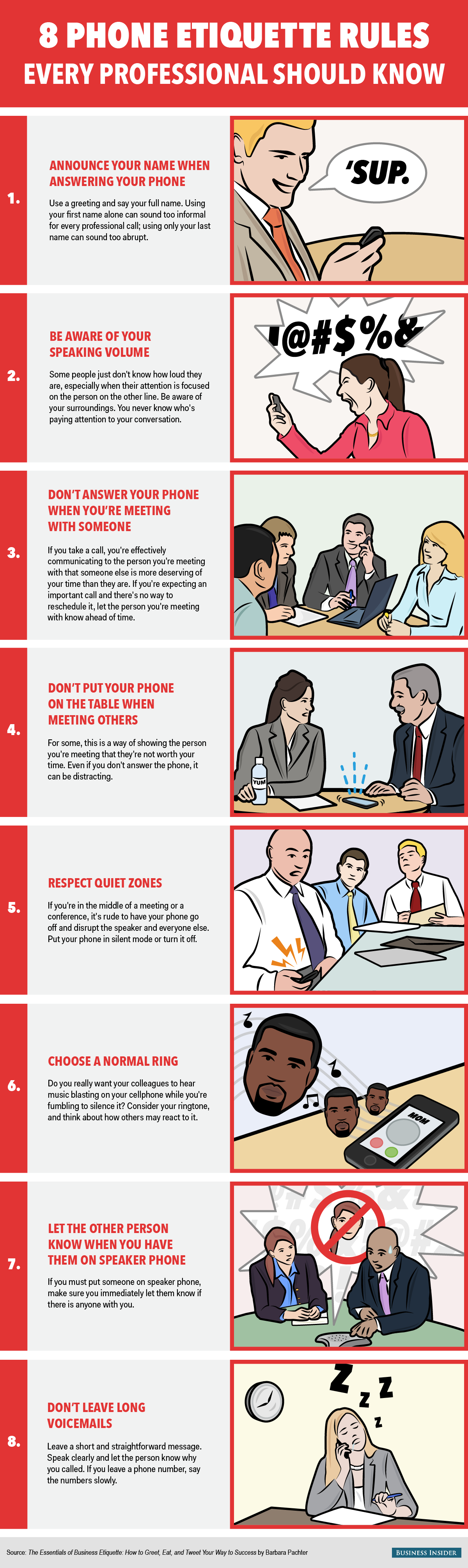 8 reglas de etiqueta para el uso de móviles que cualquier profesional debería conocer