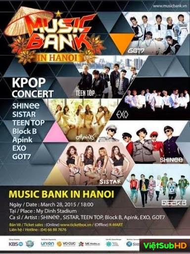 Music Bank In Hanoi