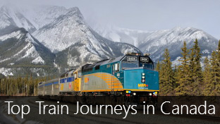 Top 5 Train Journeys in Canada