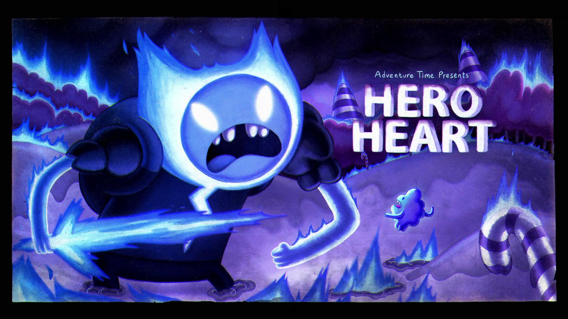 Hora de Aventura - Elementos: Coração de Herói