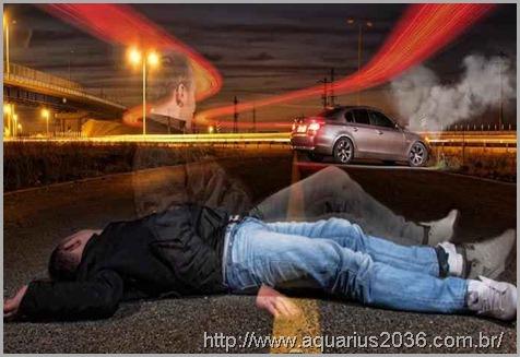 Casos de EQM com acidentes automobilisticos