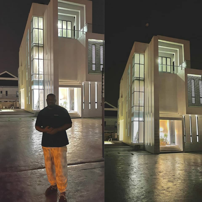 Donjazzy Shows Off His New Multi-million Naira Mansion (Photos)