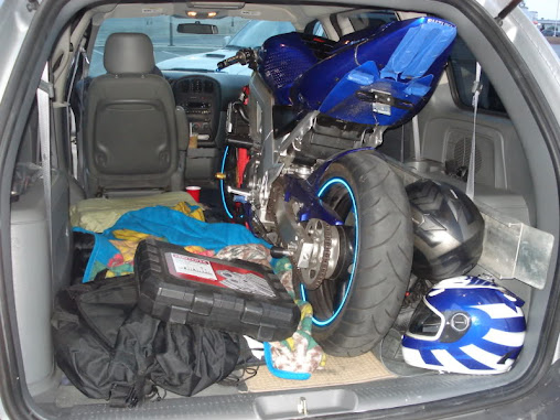 Motorcycle in a cargo van? - Page 2 - Suzuki SV650 Forum ...