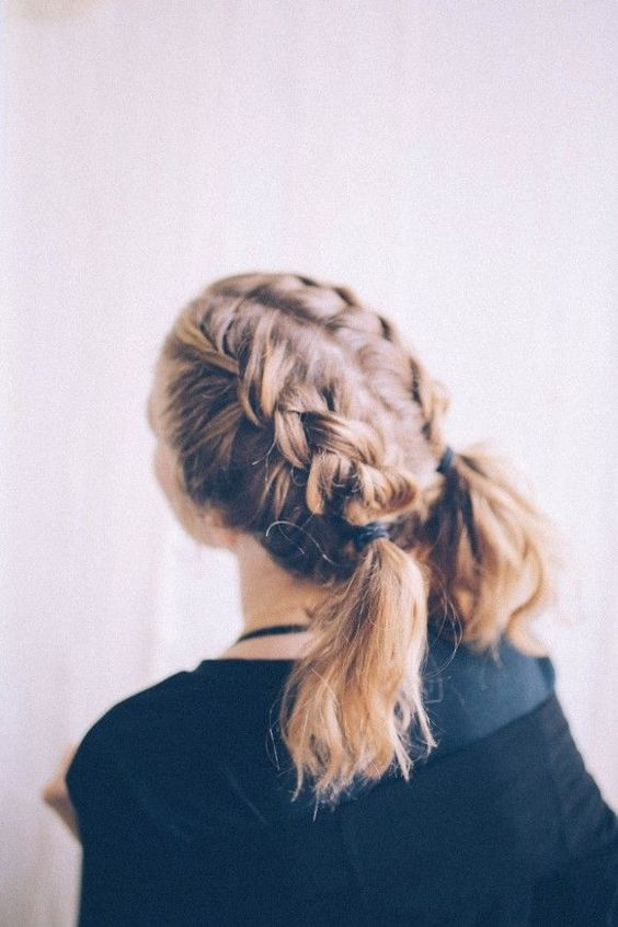 Braid for Short Hair :Style French Style Newest Ideas 2017 12
