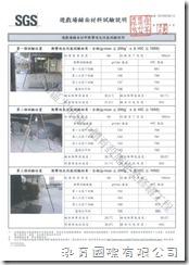 SGS 遊戲場鋪面材料試驗報告