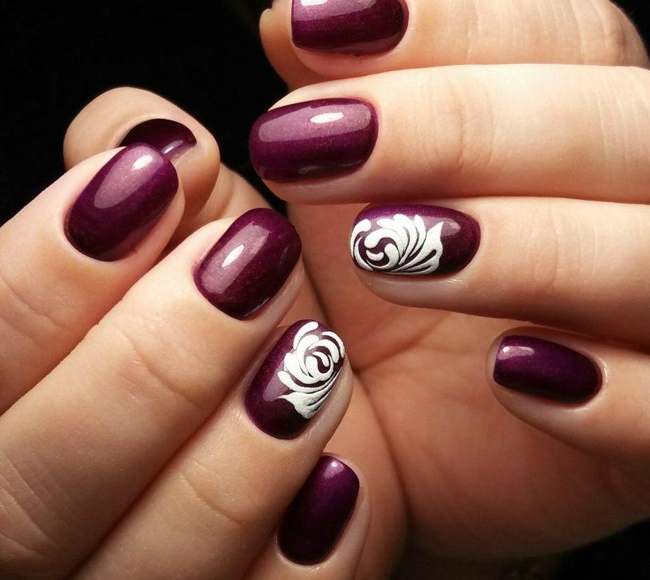 Latest Red Nail Designs-Cute Nail Art Ideas 5