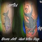 fish swallow - tattoos ideas