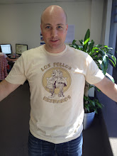 Photo: Llew returns to Geek Shirt Fridays
