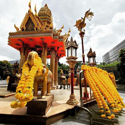 Four-Headed Buddha Shrine (9) ©LeDomduVin 2020