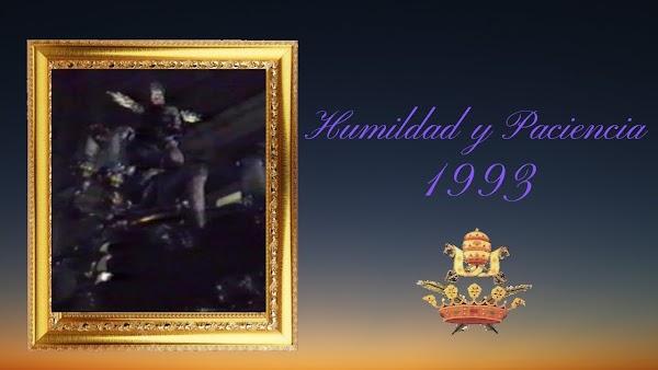 Vídeo de la Salida procesional del Cristo de la Humildad y Paciencia de Cádiz en el año de 1993