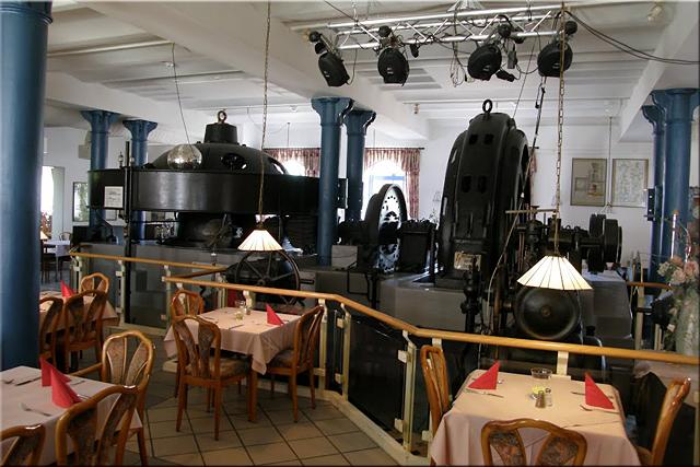 Interior del restaurante Böhmerwald