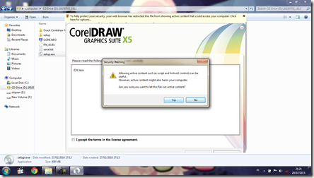 Install CorelDRAW Graphics Suite X5 - 5