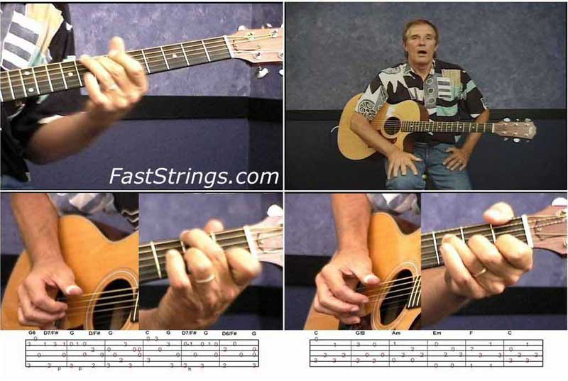 Greg Douglass - Fingerstyle guitar lessons