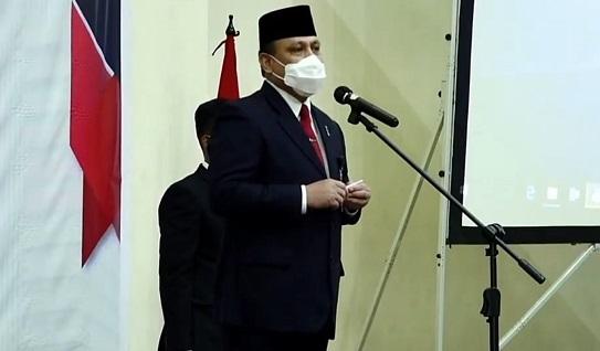 Pesan Firli Bahuri: Wajah Baru KPK Ada di Tangan Kita, Mari Bersama Wujudkan Indonesia Bebas Korupsi!