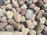 "Rainbow Rock Cobble 3"" - 6"" (dry)"